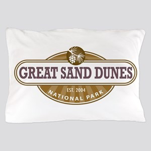 Great Sand Dunes National Park Pillow Case