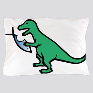 Atheism and T-Rex Pillow Case