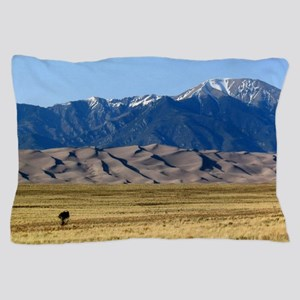 Colorado Sand Dunes Souvenir Photo Pillow Case