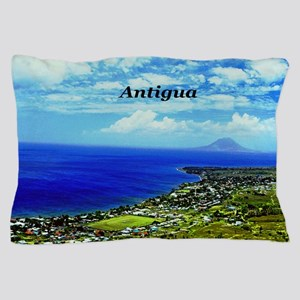 Antigua Coastline Pillow Case