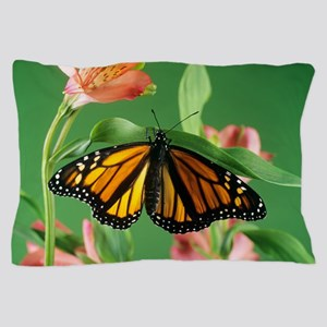 Monarch butterfly Pillow Case