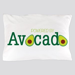 Powered By Avocado Pillow Case
