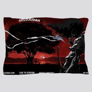 CLOJudah Samurai Pillow Case