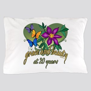 20th Birthday Beauty Pillow Case