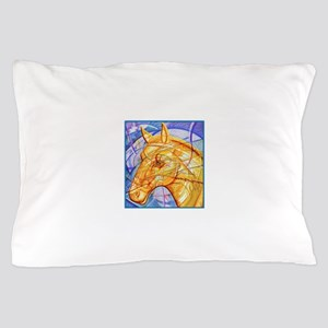 Tribal Art BW Pillow Case