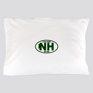 New Hampshire Live Free or Die Pillow Case