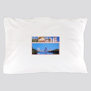 Rochester New York Greetings Pillow Case