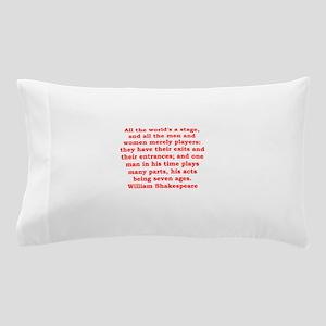william shakespeare Pillow Case