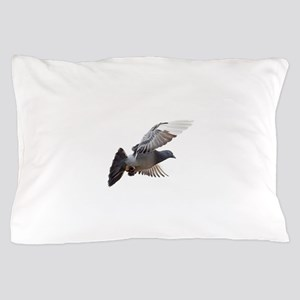 pigeon fly to love joy peace Pillow Case