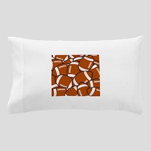 American Football Pattern Pillow Case