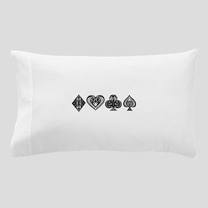 Card Symbols Pillow Case