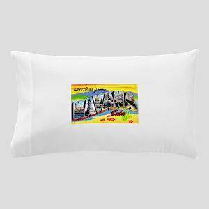 Havana Cuba Greetings Pillow Case