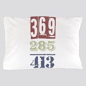 Numbers Pillow Case