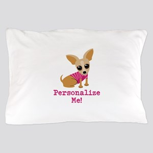 Custom Pink Chihuahua Pillow Case