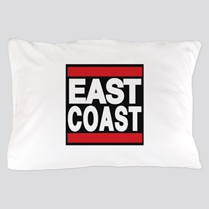 east coast red Pillow Case