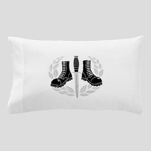 Skinhead Aggro (Silver) Pillow Case