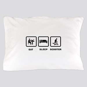 Scooter Riding Pillow Case