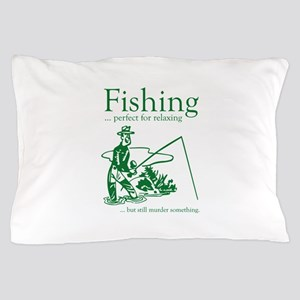 Fishing Pillow Case