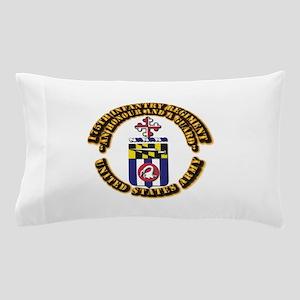 COA - 175th Infantry Regiment Pillow Case