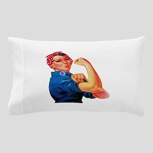 Rosie the Riveter Pillow Case