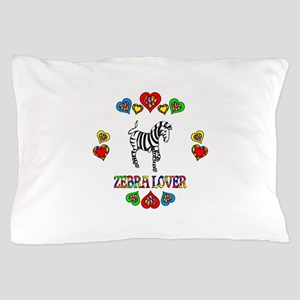 Zebra Lover Pillow Case
