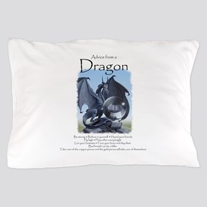 Advice from a Dragon Pillow Case