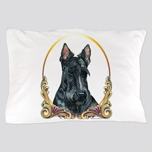 Scottish Terrier Holiday Pillow Case