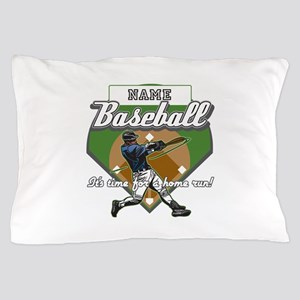 Personalized Home Run Time Pillow Case