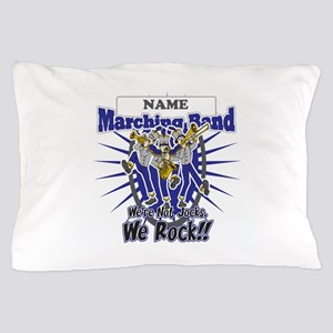 Marching Band Rocks(Blue) Pillow Case