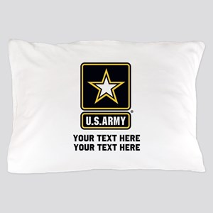 US Army Star Pillow Case