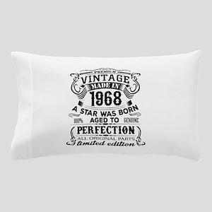 Vintage 1968 Pillow Case