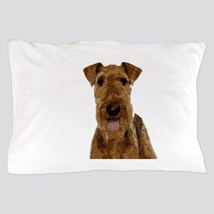 Airedale Painted Pillow Case