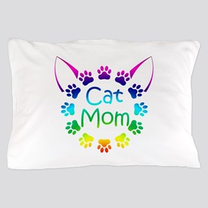 """Cat Mom"" Pillow Case"