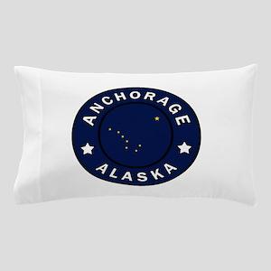 Anchorage Alaska Pillow Case