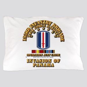 Just Cause - 193rd Infantry Bde w Svc Pillow Case
