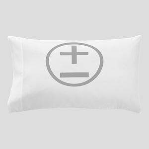 BBTF Day Plus Minus Circle Light Pillow Case