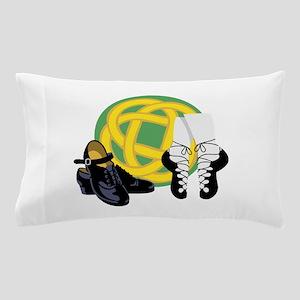 Celtic Knot Irish Shoes Pillow Case