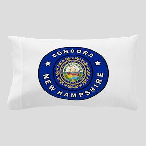 Concord New Hampshire Pillow Case
