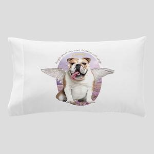Bulldog Angel Pillow Case