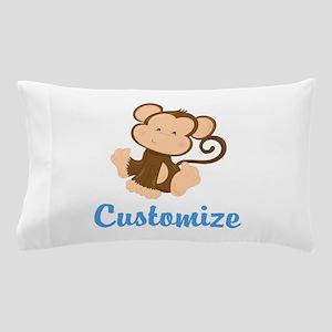 Custom Monkey Pillow Case