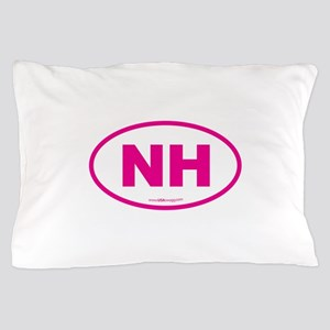New Hampshire NH Euro Oval Pillow Case