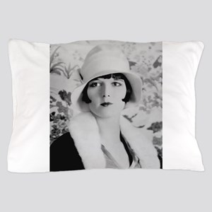 louise brooks silent movie star Pillow Case