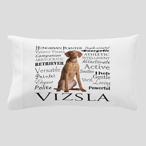 Vizsla Traits Pillow Case