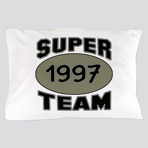 Super Team 1997 Pillow Case