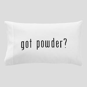 got powder black Pillow Case
