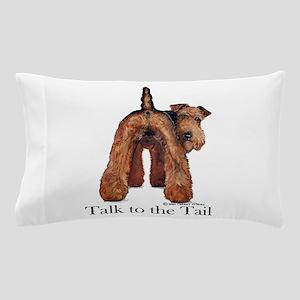 Welsh Terrier Attitude Pillow Case