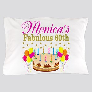 SNAZZY 60TH DIVA Pillow Case