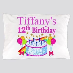 PERSONALIZED 12TH Pillow Case