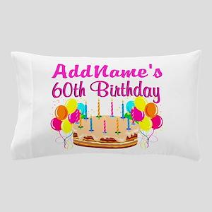 AMAZING 60TH Pillow Case