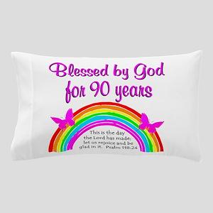 PRECIOUS 90TH Pillow Case